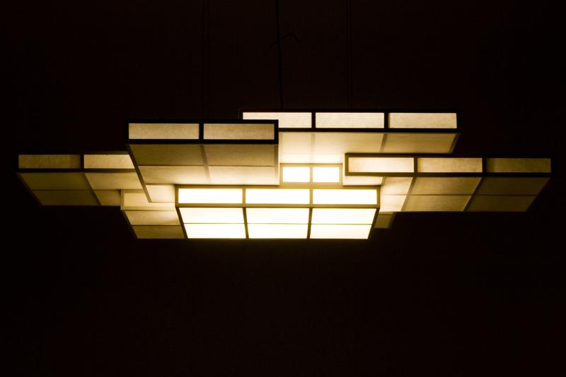 Kasane andon pendant light kasane andon pendant light mozeypictures Choice Image